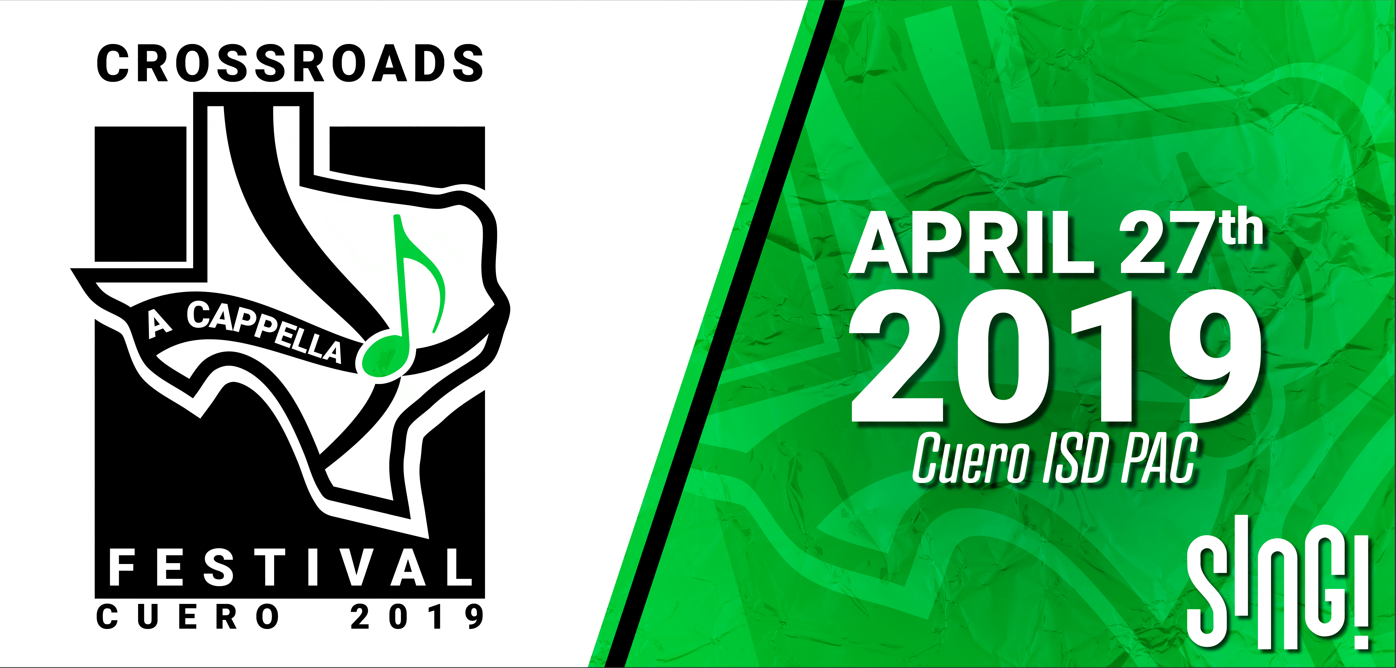 Crossroads A Cappella Festival, April 27, 2019